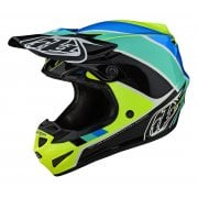 2020 Adults SE4 Polyacrylite Helmet - Beta - Yellow/ Black