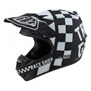 2020 Adults SE4 Polyacrylite Helmet - Checker - Black/ White
