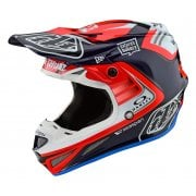 2020 Adults SE4 Carbon Helmet - Flash - Blue/ Red