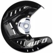 Front Disc Cover Kit - Yamaha YZF 250/450 2014-18 - Black