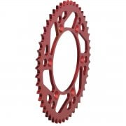 Rear Sprocket - Beta RR 2006-14, Gas Gas EC 1997-2013 - Red/ 49T