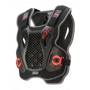 Adults Action Chest Protector - Black/ Red