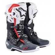 Adults Tech 10 Supervented Boots - Black/ White/ Grey/ Red