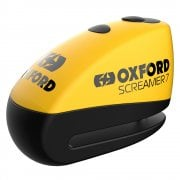 Screamer7 100db Alarm Disc Lock - Yellow