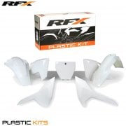 Plastics Kit - Husqvarna TC125 2016, FC250/450 2016- White