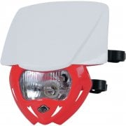 Panther 12V Headlight - White/ Red