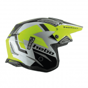 Adults Zone 4 Balance Trials Helmet - Fluro Yellow