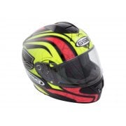 Adults G-350 Full Face Helmet - Yellow/ Pink