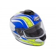 Adults G-350 Full Face Helmet - Yellow/ Blue