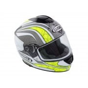 Adults G-350 Full Face Helmet - Yellow/ Grey