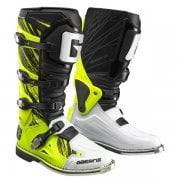 Adults Fastback MX Boots - Fluro Yellow