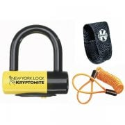 New York Liberty Sold Secure Gold Disc Lock & Reminder Cable - Yellow