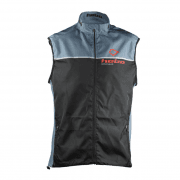 Adults Line Gilet Vest - Grey