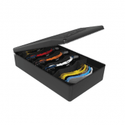 Velocity Goggles Case - Holds 5 Sets