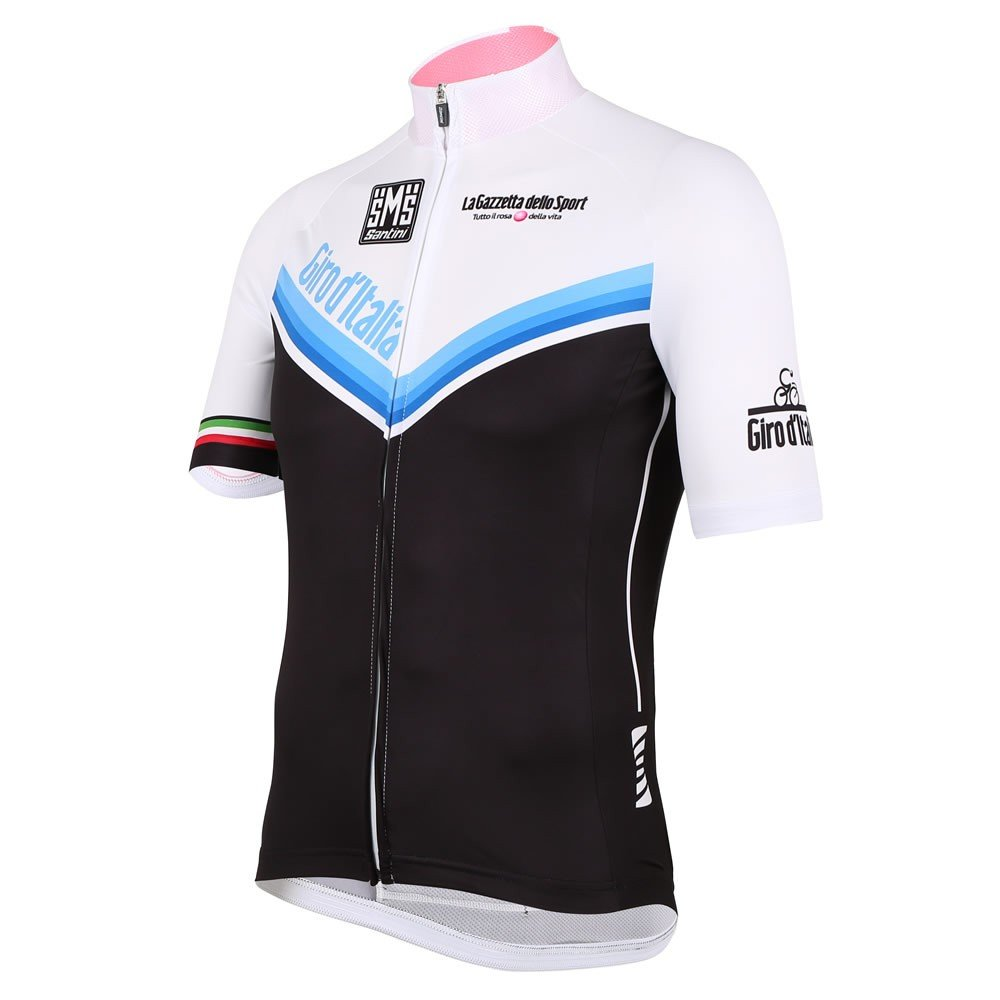 Santini-Replica-Giro-Ditalia-2014-Event-Line-Short-Sleeve-Cycle-Jersey-Black