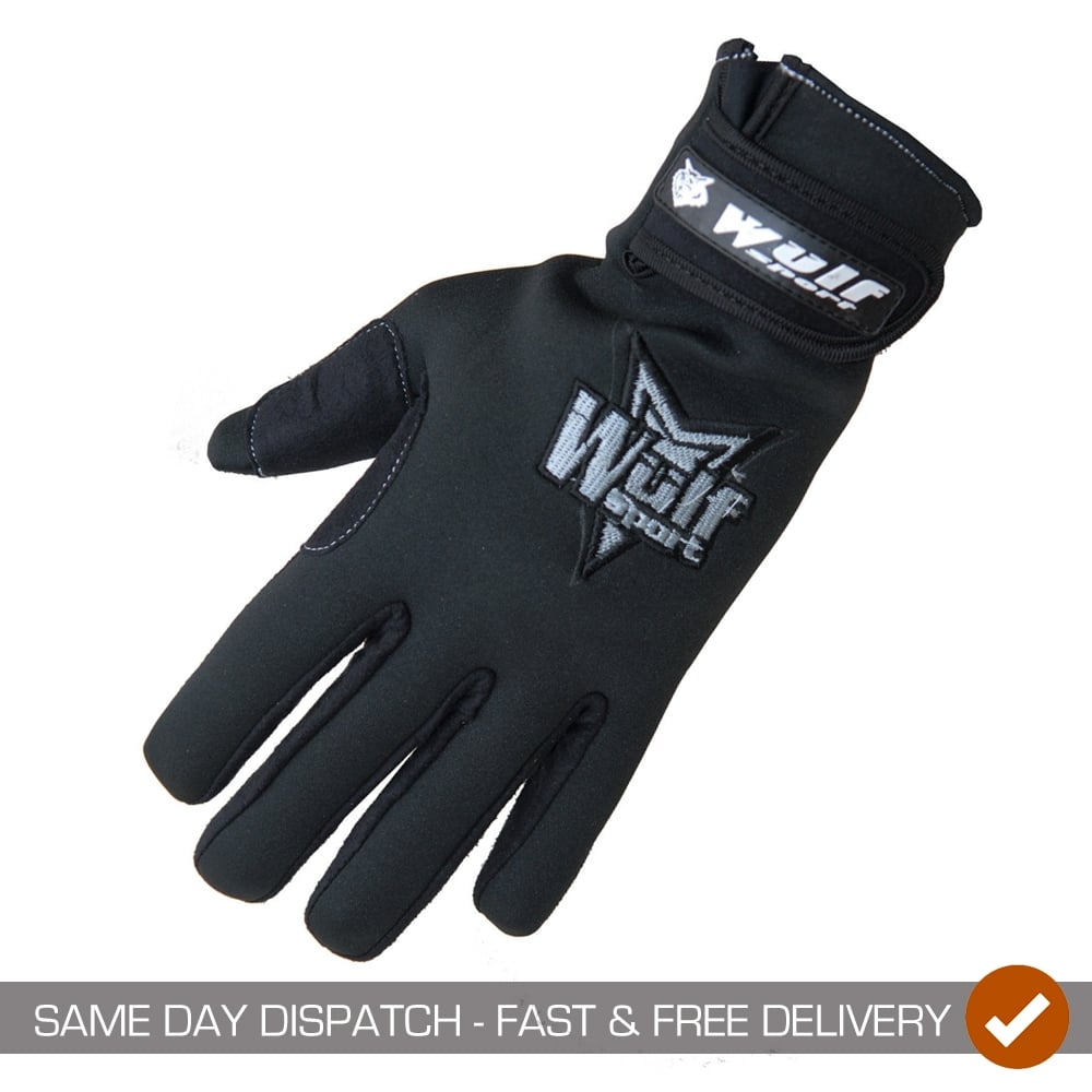 Wulfsport Adults Adventure Water Resistant Trail Enduro Motor Bike Gloves