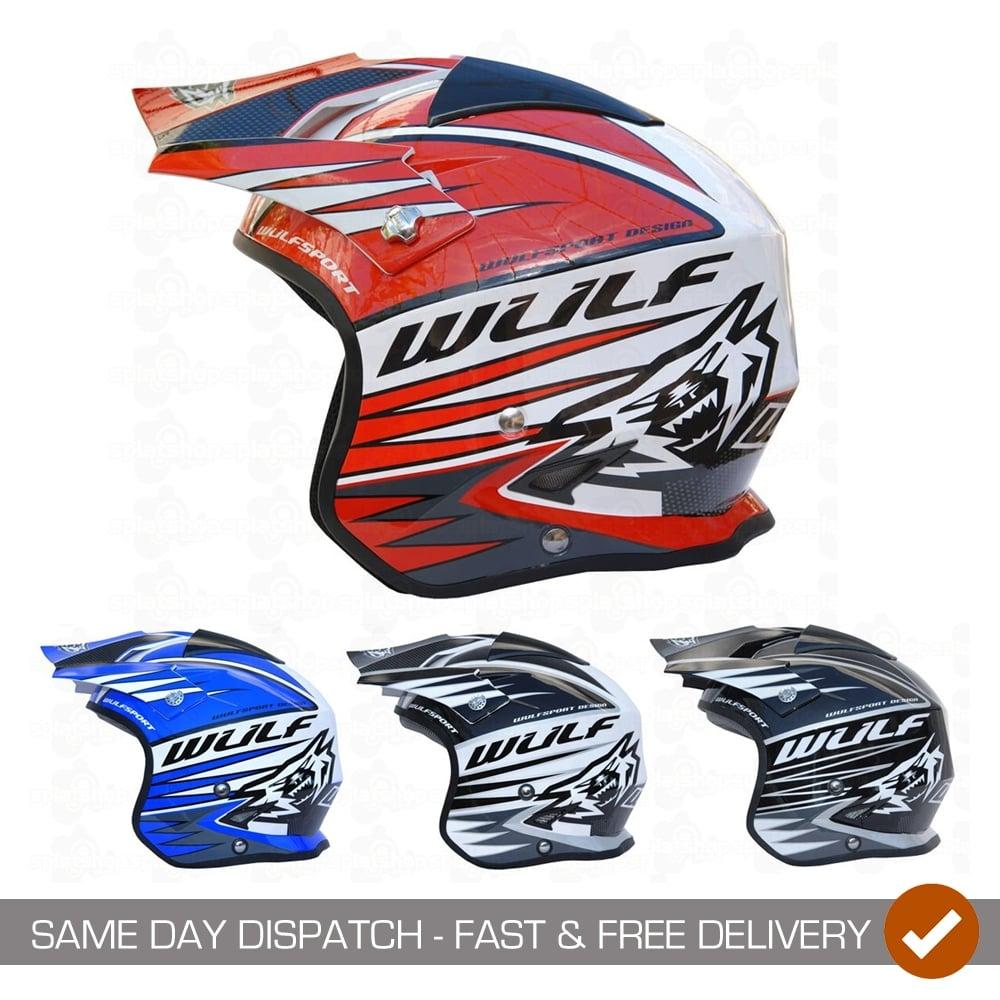 Wulf Vista Trials Helmet