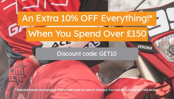 10% Off Over £150